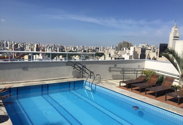 Studio Sky Centro, São Paulo, Piscine en plein air