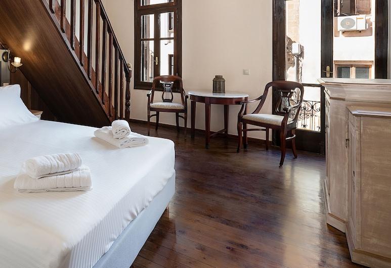 Old Town Suites, La Canea, Suite familiar, Sala de estar