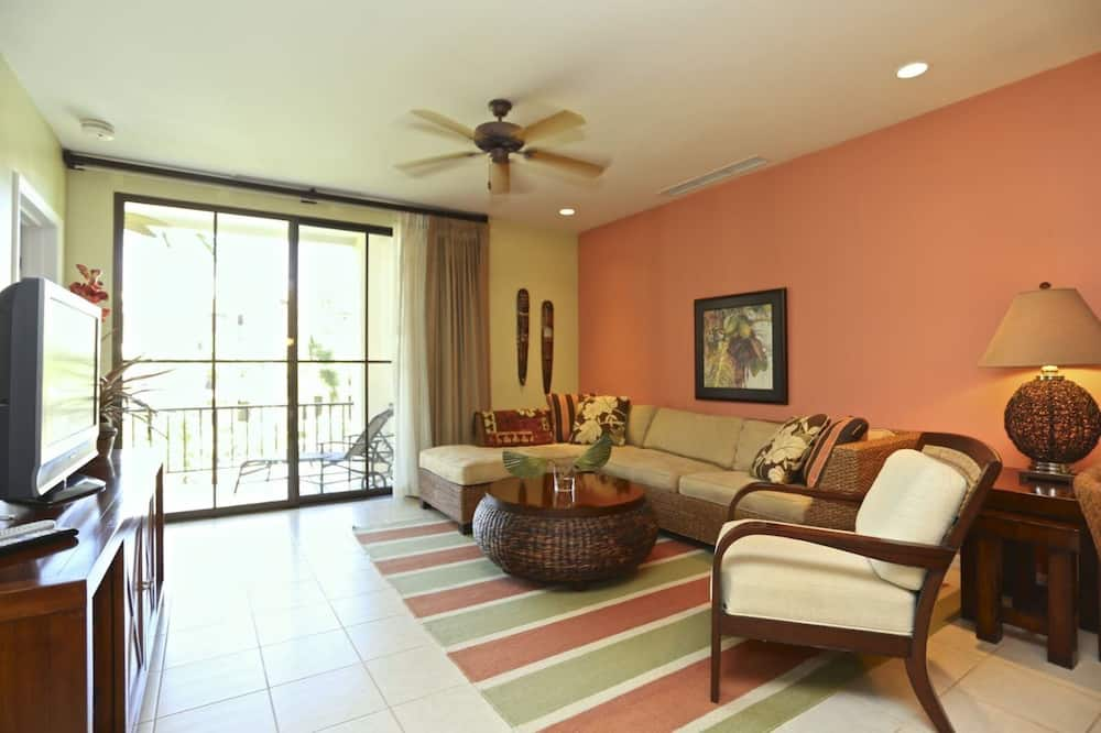 Luxury-Villa, 2Schlafzimmer, Küche, Poolblick - Wohnbereich