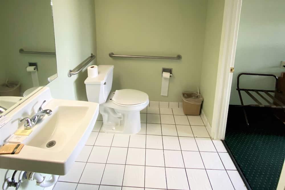 標準單人房, 1 張加大雙人床, 無障礙, 非吸煙房 - 浴室