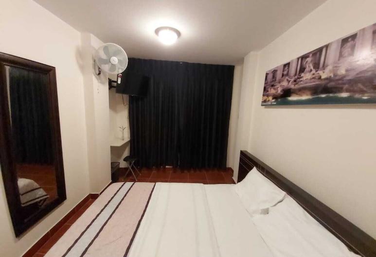Hospedaje La Casita, Huačas, Kambarys su patogumais, iš miegamojo pasiekiamas vonios kambarys, Svečių kambarys