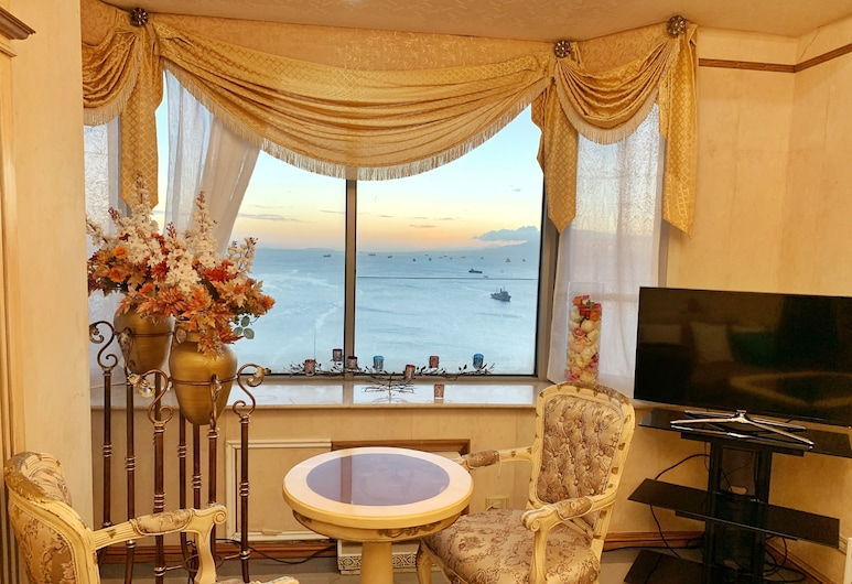 Marina Residential Suites, Manila, Royal Suite, Living Room
