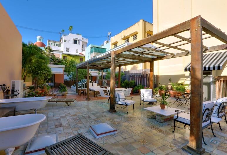 Villa Herencia Hotel, San Chuanas, Terasa / vidinis kiemas