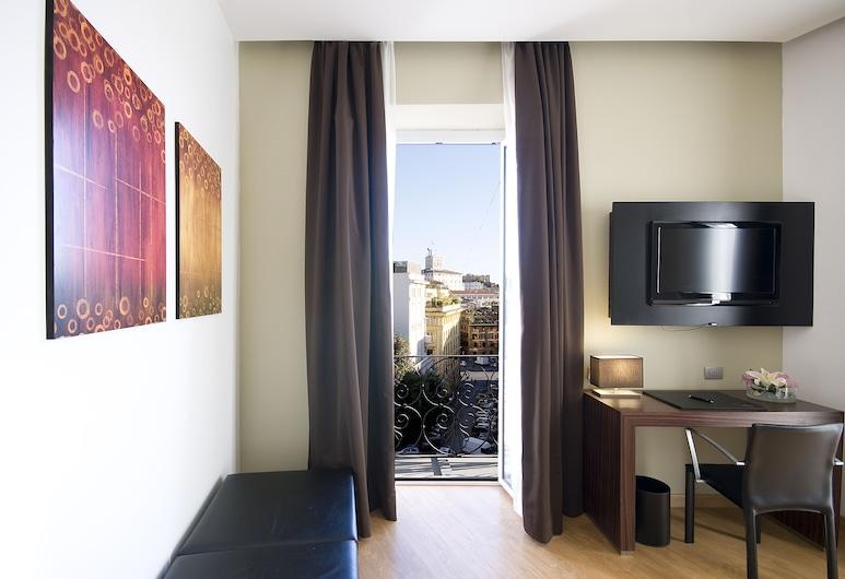 Trevi Collection Hotel, Rzym, Pokój dwuosobowy z 1 lub 2 łóżkami typu Superior, Powierzchnia mieszkalna