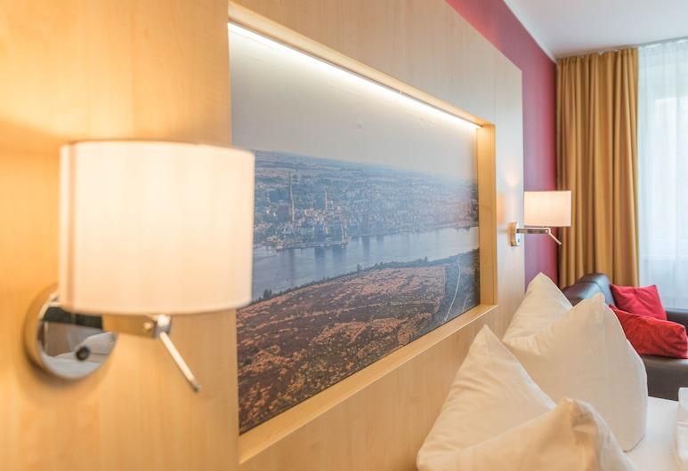 Das Hotel an der Stadthalle, Rostoka, Komforta numurs, balkons, Viesu numurs