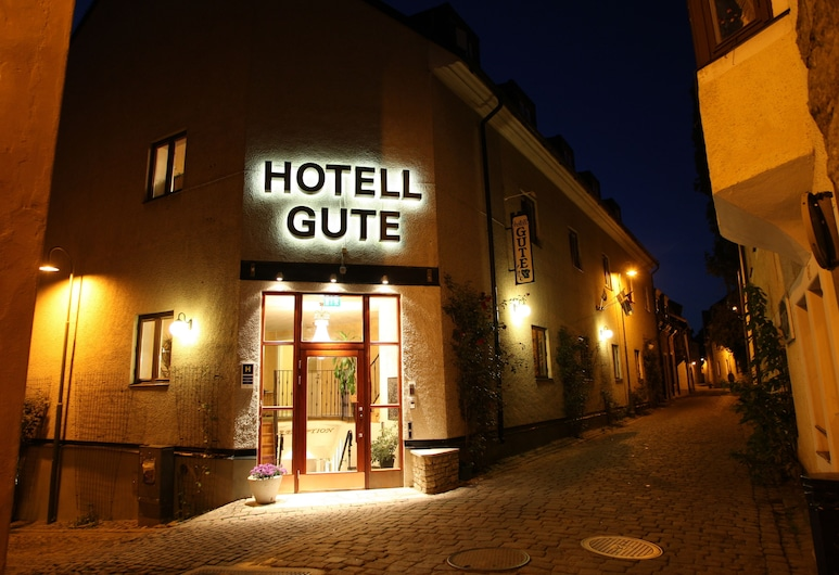 Hotell Gute, Visby, Hotellets front – kveld/natt