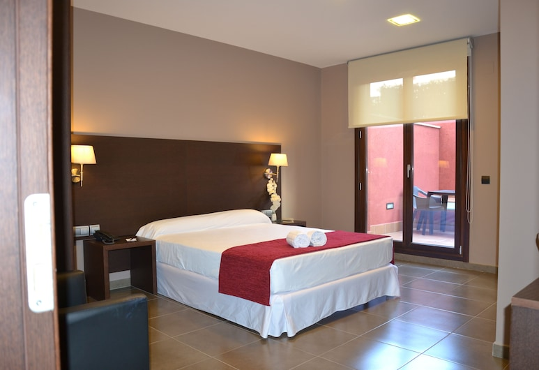 Hotel Vilassar, Vilassar de Mar, Quarto Duplo, Terraço, Quarto
