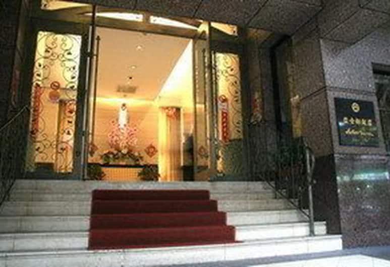 Astar Hotel Taipei, Taipei, Ingang van hotel