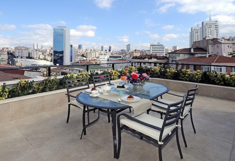 Cheya Tesvikiye, Istanbul, Suite - 3 soveværelser - terrasse, Terrasse/patio