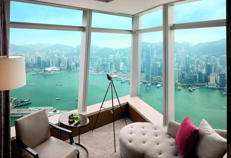 The Ritz Carlton Hong Kong, Kowloon, Deluxe Suite, 1 Bedroom, Executive Level (Victoria Harbour), Guest Room