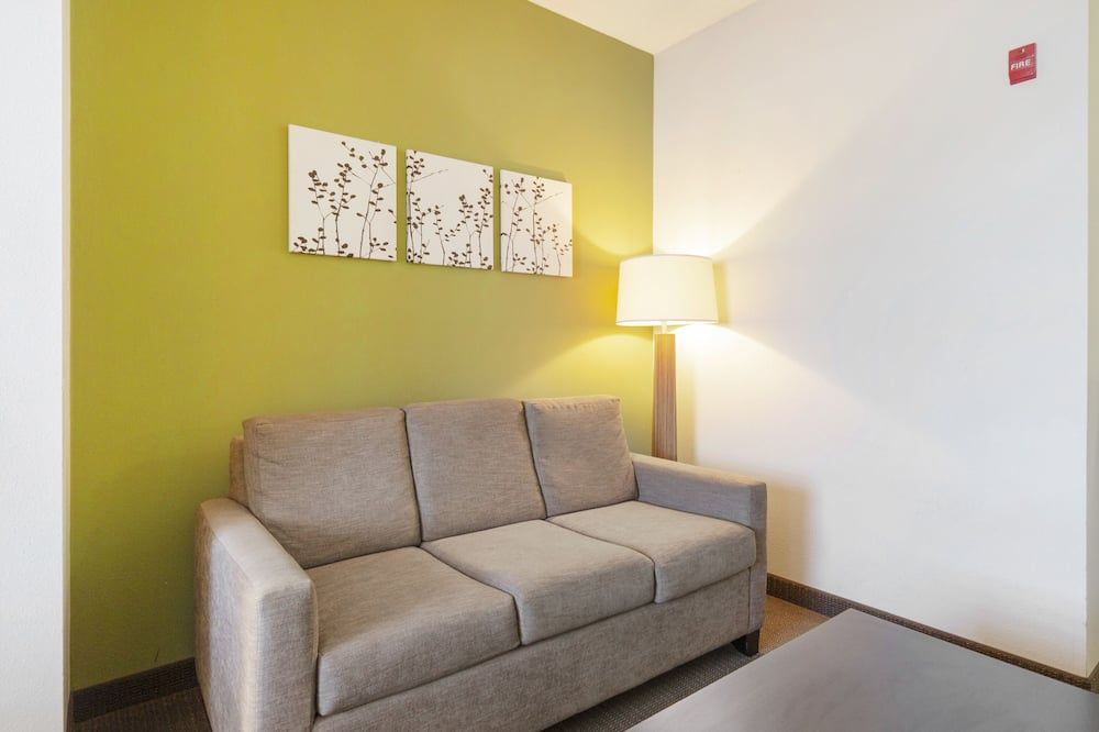 Suite, 1 Bedroom, Accessible - Living Area