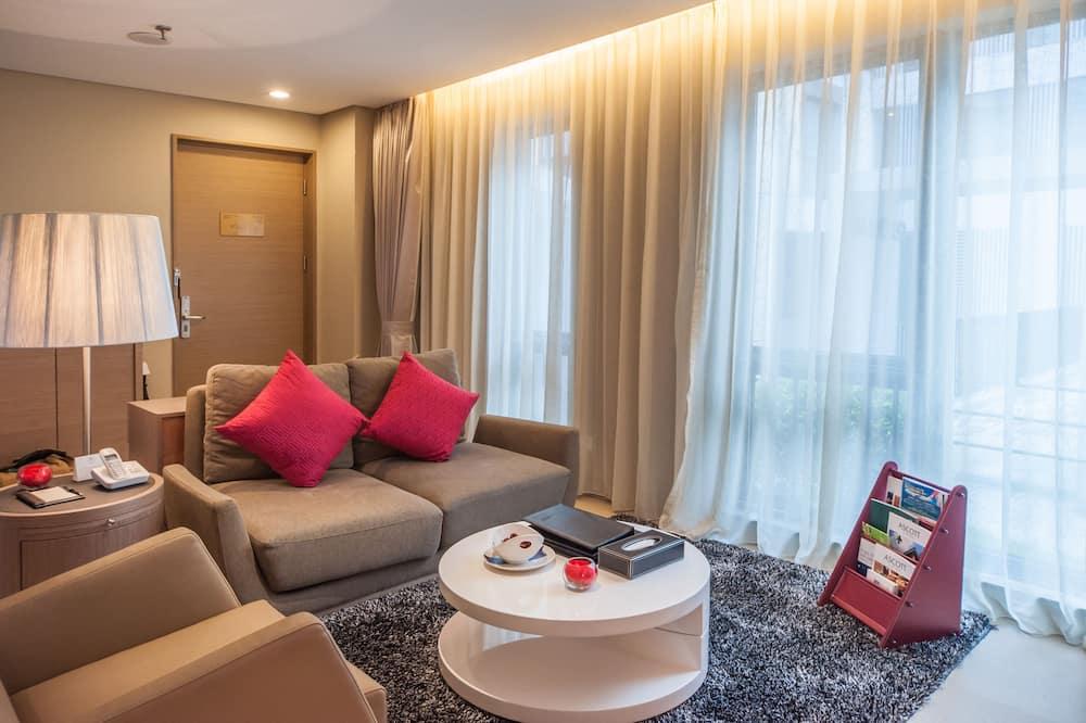 Phòng Deluxe, 2 phòng ngủ - Khu phòng khách