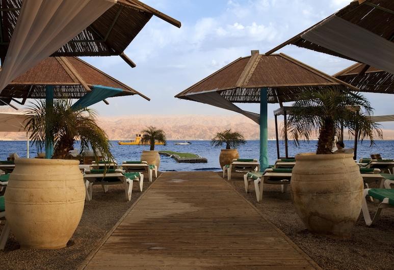 Reef  Eilat Hotel  By Herbert  Samuel , Eilat, Spiaggia