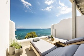 Nuotrauka: Blue Waves Suites & Apartments (To Kyma), Paras