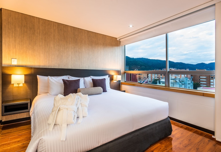 Hotel Cosmos 116, Bogotá, Premium-Doppelzimmer, Ausblick vom Zimmer