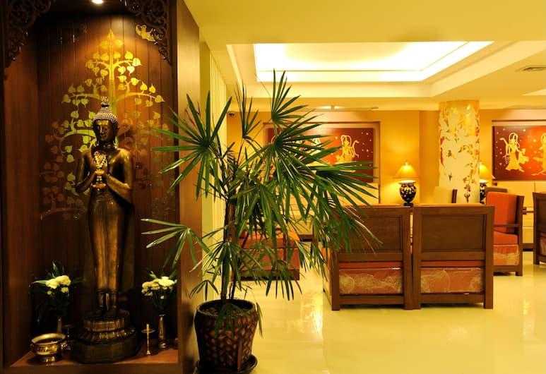 Mariya Boutique Residence at Suvarnabhumi Airport, בנגקוק, אזור ישיבה בלובי