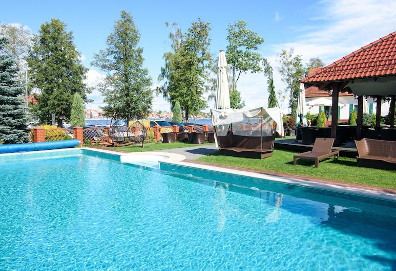 Hotel Amax, Mikolaikos, Lauko baseinas