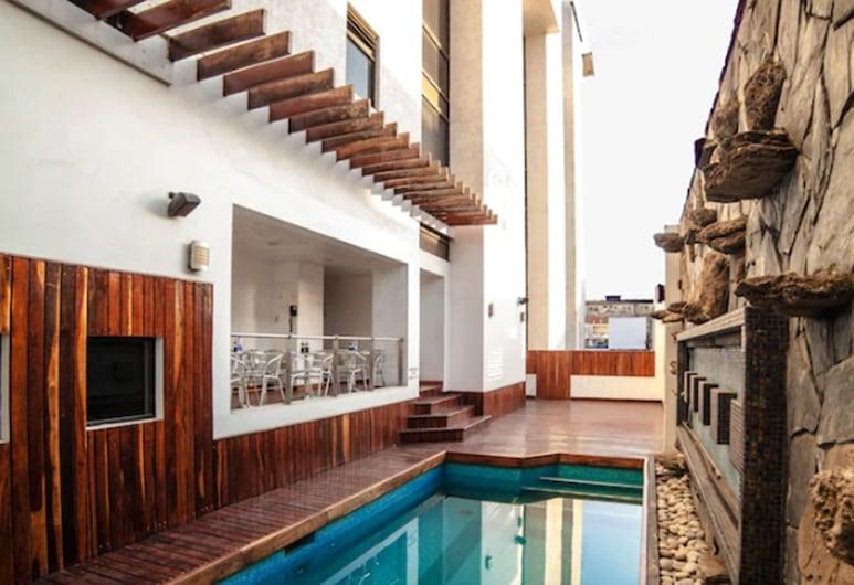 Hotel Inglaterra, Tampico, Kültéri medence