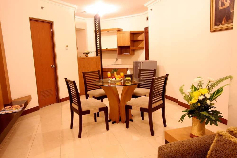 Junior suites - Svetainės zona