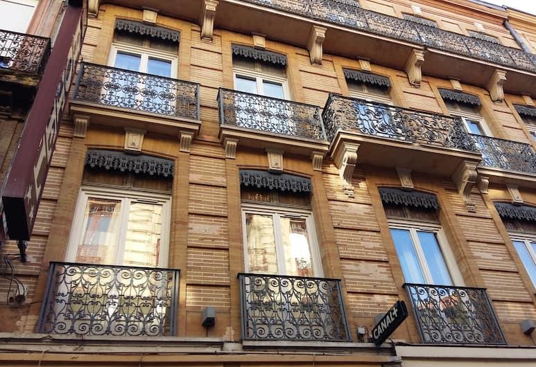 Le Capitole, Toulouse, Hotellets facade