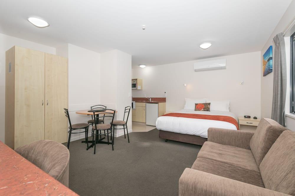 Pokój rodzinny, 1 sypialnia (Queen, Single & Bunks) - Powierzchnia mieszkalna