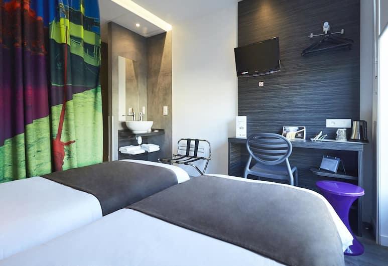 南特格拉斯蘭凱里亞德飯店, 南特, 標準客房, 2 張單人床, 客房