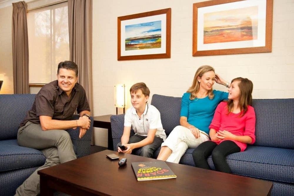 สแตนดาร์ดอพาร์ทเมนท์, 1 ห้องนอน - พื้นที่นั่งเล่น