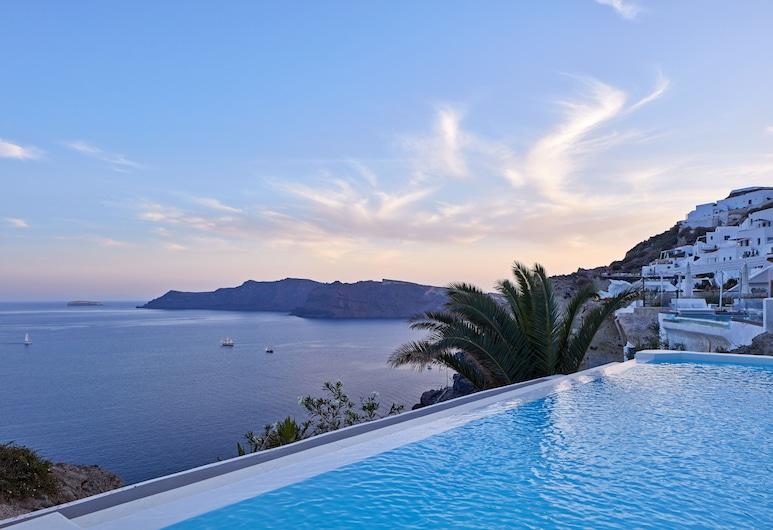 Katikies Villa Santorini - The Leading Hotels Of The World, Santorini, Svømmebasseng