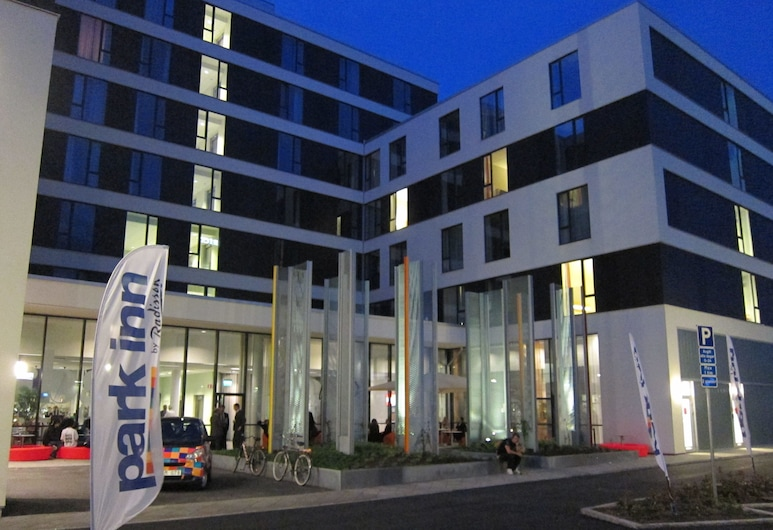 Park Inn by Radisson Malmö Hotel, Malmo, Hotel Front – Evening/Night