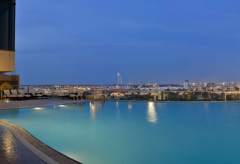 Two Seasons Hotel & Apartments Former Gloria, Dubai, Outdoor Pool