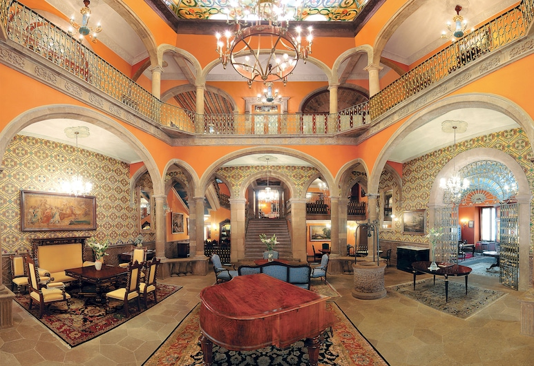Hotel Museo Palacio de San Agustin, San Luis Potosi, Lobby