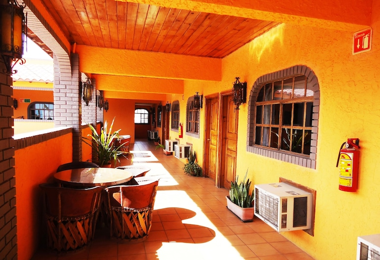 La Hacienda de la Langosta Roja, San Felipe, Terraza o patio