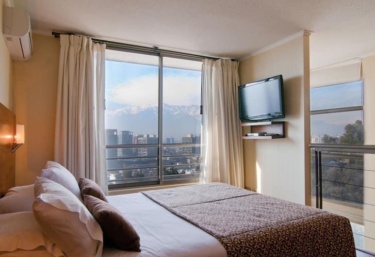 Park Plaza Apart Hotel, Santiago, Loft, 1 Queen Bed, Kitchen, Room