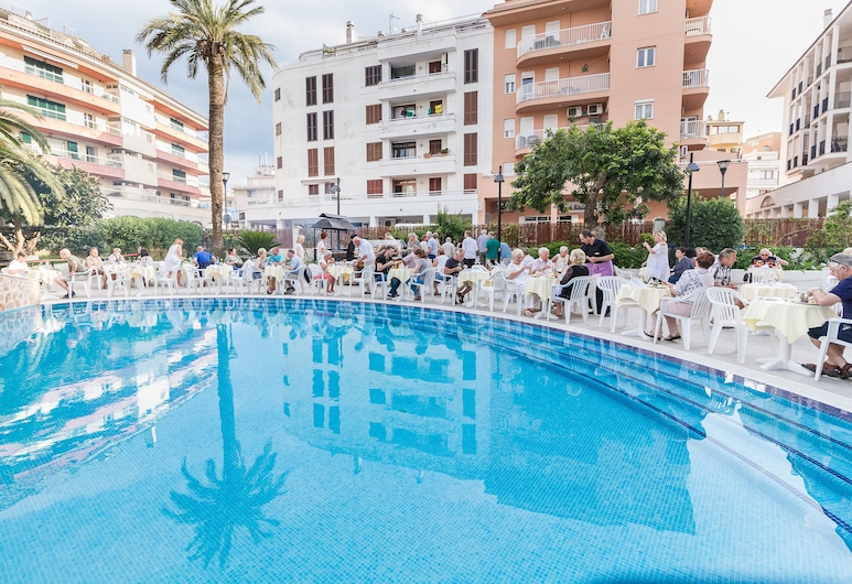Eix Alcudia Hotel - Adults Only, Alcúdia, Bar ved poolen