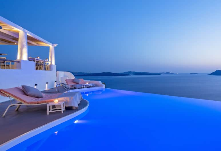 Katikies Hotel - The Leading Hotels Of The World, Santorini, Restaurant