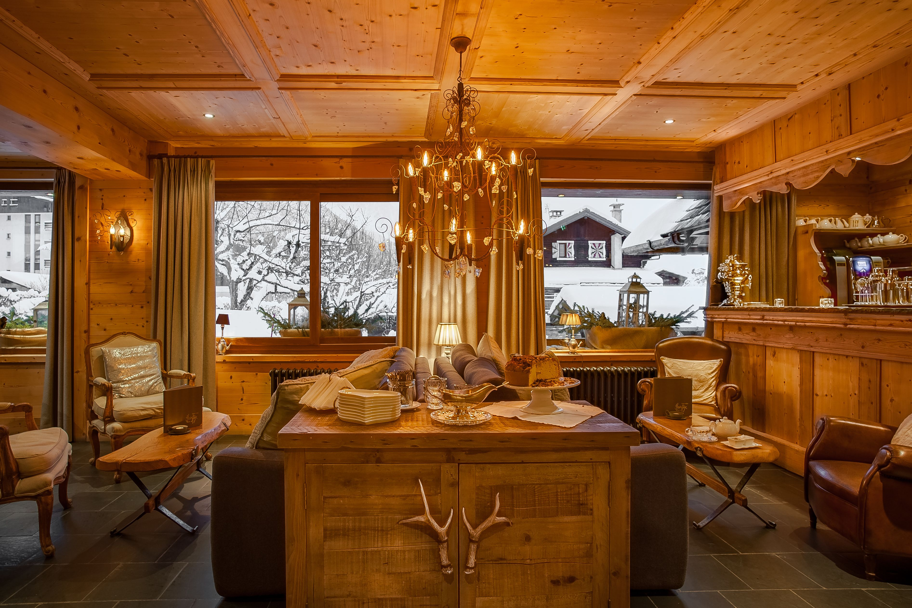 Hôtel Hermitage, Chamonix-Mont-Blanc, Hotellbar