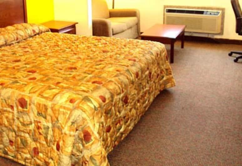 Tropicana Inn and Suites, Dallas, 1King-Bett, Nichtraucher, Zimmer