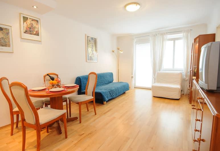 Central Vienna, Vienna, Standard Apartment, Kitchen, Bilik
