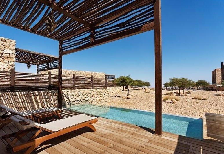 Beresheet Hotel, Ramat Negev, Desert View Family Villa, Výhľad z hosťovskej izby