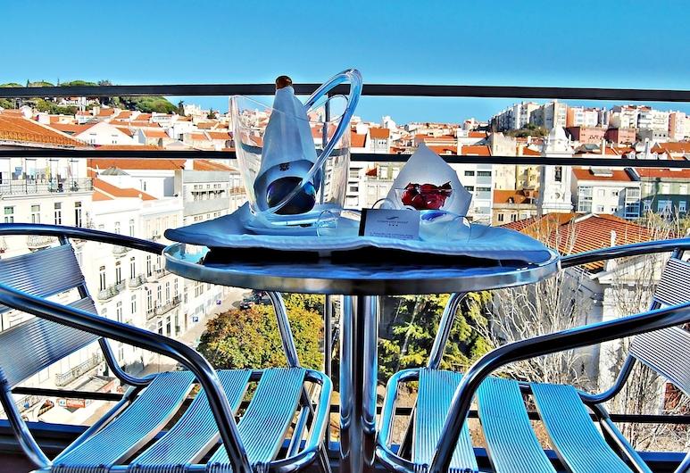 Lisbon City Hotel, Lisabon, Superior dvokrevetna soba, balkon (and Refrigerator), Balkon