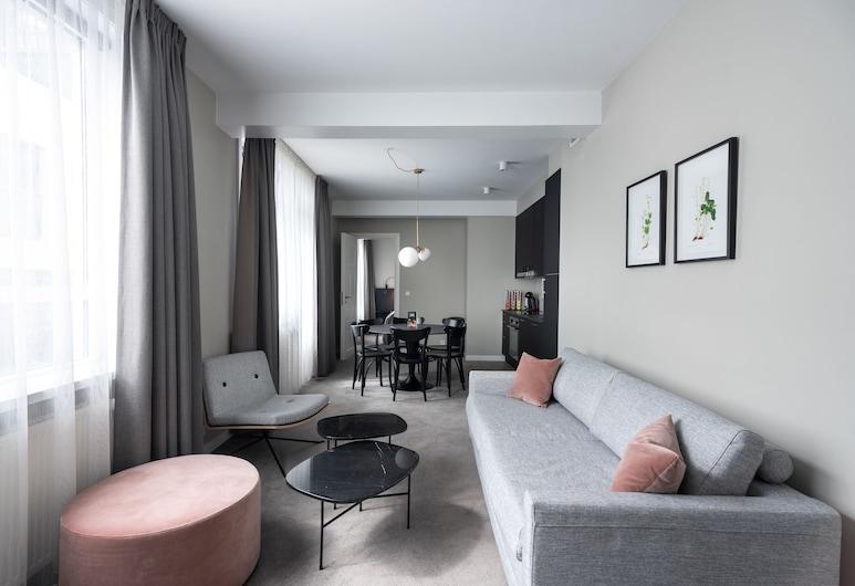Reykjavik Residence Hotel, Reikjavikas, Numeris, 2 miegamieji, 2 miegamieji, Svetainės zona