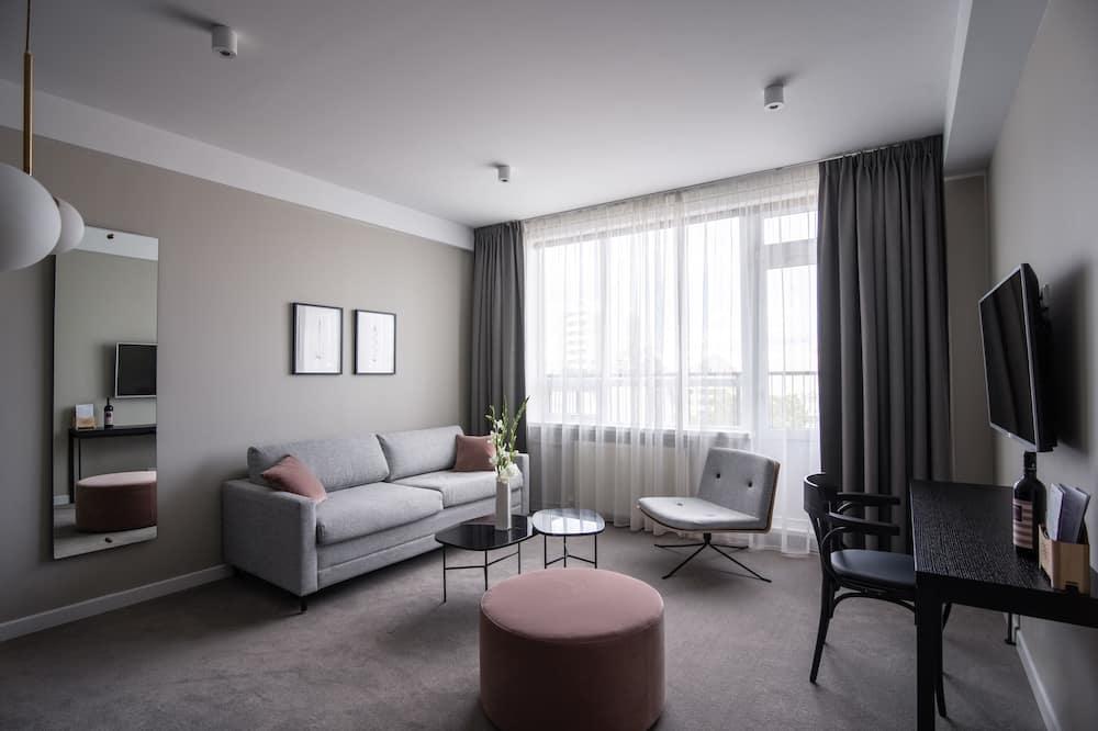 Suite, 2 habitaciones, 2 baños - Sala de estar