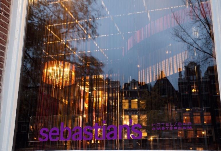 Hotel Sebastian's, Amsterdam, Hotelfassade