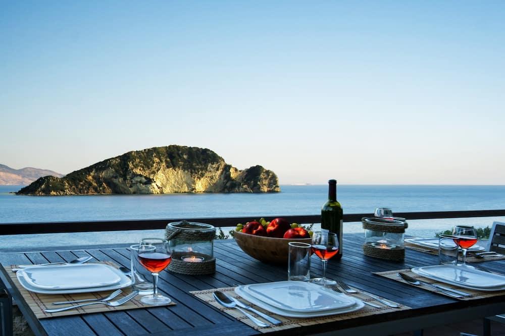 Villa Executive - 3 sovrum - privat pool - havsutsikt - Balkong