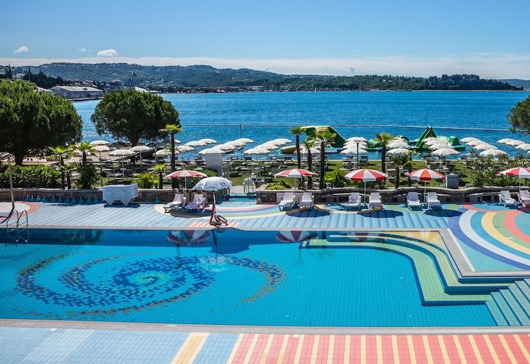 Hotel Ville Park, Piran, Pool