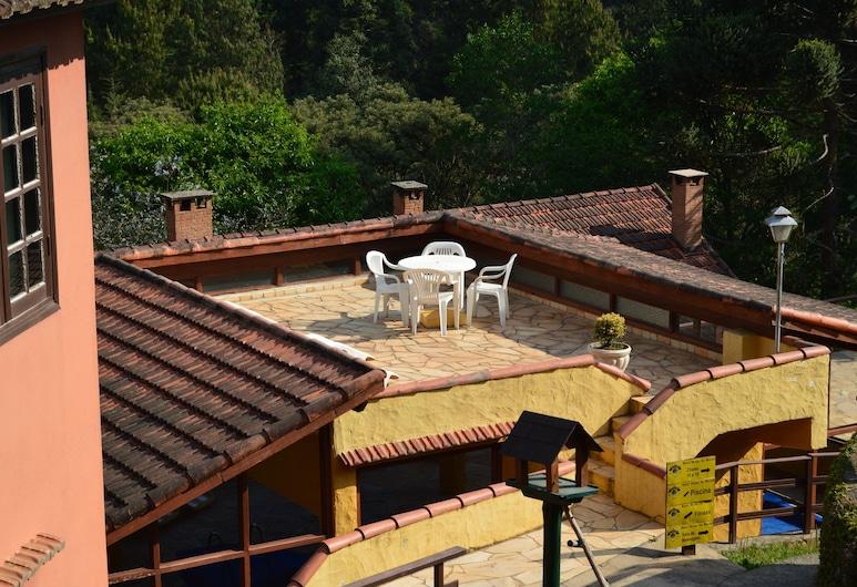 Hotel Ninho do Falcao, Monte Verde, Terrasse/Patio