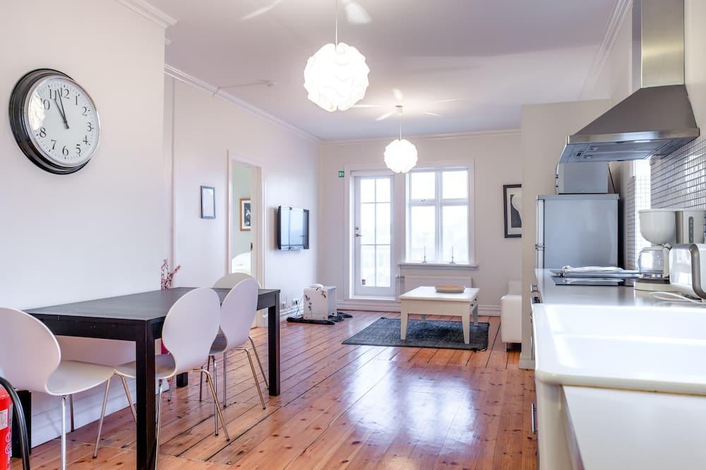 One Bedroom Deluxe Amtmannstigur 5 - Khu phòng khách
