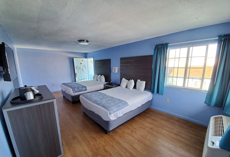 Aqua Breeze Inn, Santa Cruz, Kolmen hengen huone, Osittainen merinäköala, Vierashuone