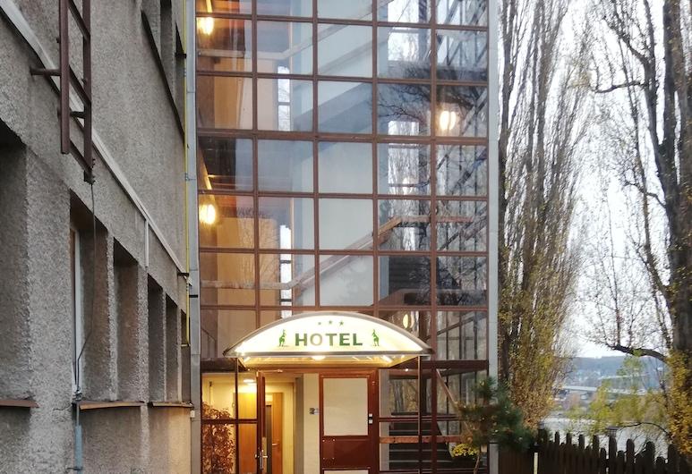 Hotel Bohemians, Praga, Entrada do hotel