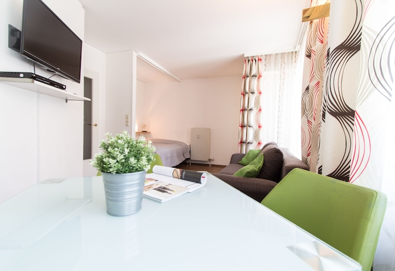 Karmeliter Flats, Viena, Apartamento conforto, Área de estar